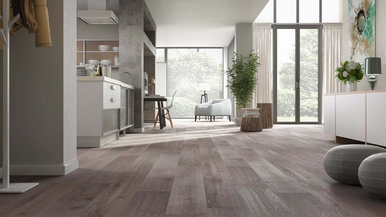 Tarima flotante madera para interior intafllor intasa for Suelos laminados claros
