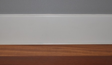 mdf lacado blanco burlete superior inferior